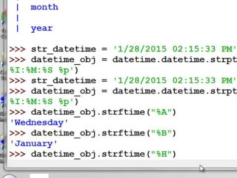 4)  Working with Date and Time Fields