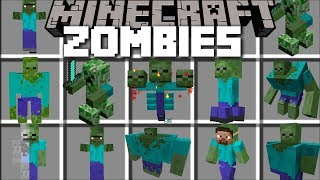 Minecraft ZOMBIE OUTBREAK MOD / FIGHT OFF FLESH EATING ZOMBIES IN GUNS!! Minecraft