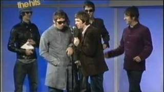 Oasis and Coldplay at the Q Awards 2005