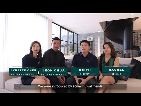 Singapore Client Testimonial For Property Agent Video - Keith & Rachel