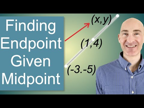 Finding Endpoint Given Midpoint