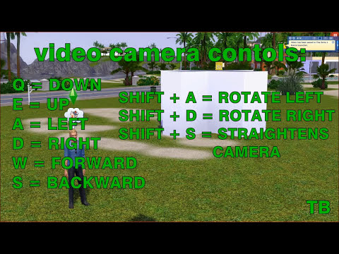 The Sims 3 Tutorials - Camera Angles and Speed Building