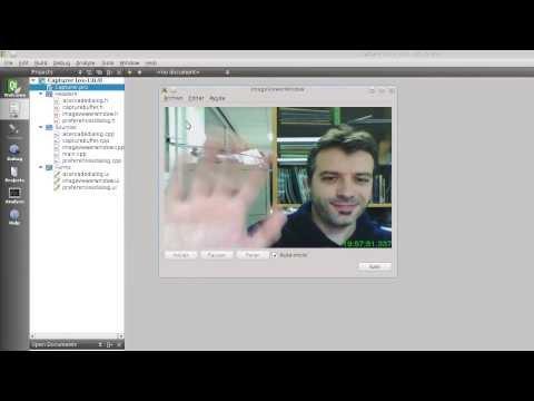 Capturando secuencias de vídeo con Qt