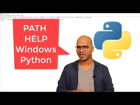 #7 Python Tutorial for Beginners | Python Set Path in Windows and Help