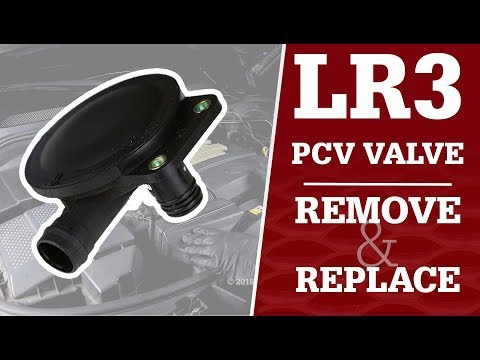 LR3 PCV Valve / How to replace it!
