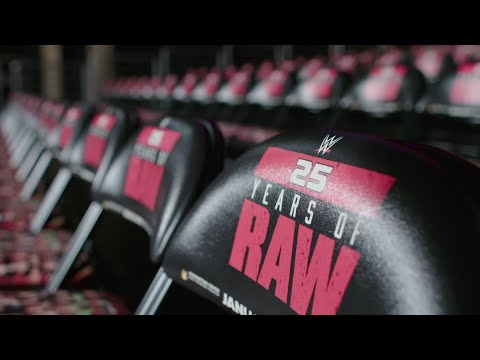 Watch WWE 24: Raw 25, streaming tonight immediately after Raw on WWE Network