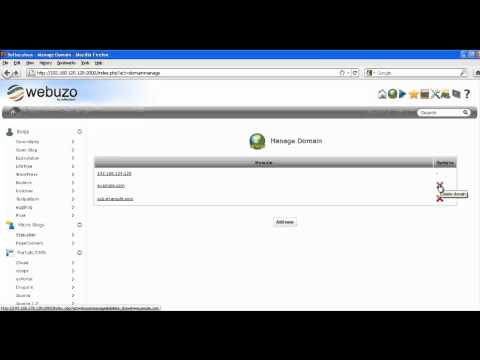 How to Delete Domain and Subdomain