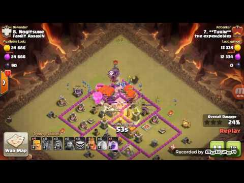 TH7  Attack Strategy Baloonian | Balloon + Minion (Cost Effective)
