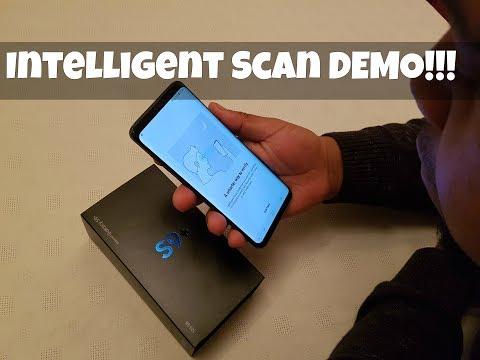 Samsung Galaxy S9 Plus INTELLIGENT SCAN DEMO!!