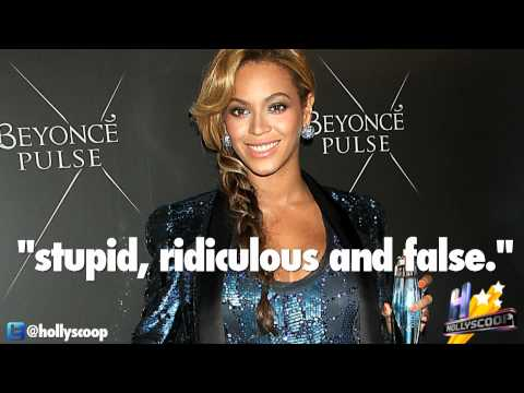 Beyonce addresses the fake belly rumors