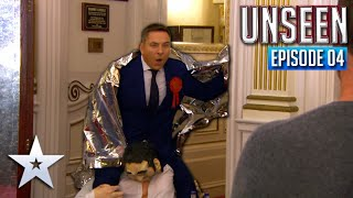 David Walliams arrives LATE to auditions! | Episode 4 | BGT: UNSEEN