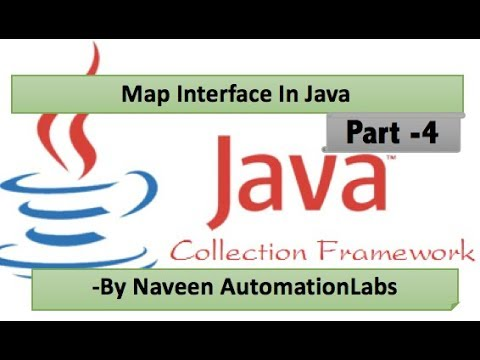 Map Interface In Java Collections Framework Tutorial Part 4