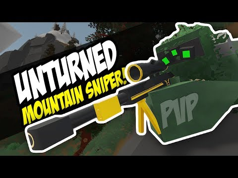 MOUNTAIN SNIPER - Unturned PVP | Epic Sniping! (Germany)