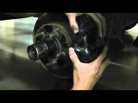 Asian Bass Guy UFP-DB-42 Trailer Brakes hub,disc removal