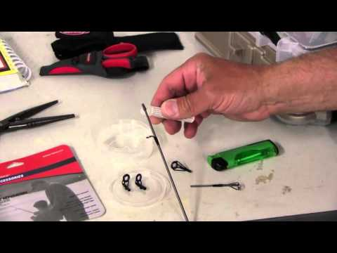 How to Repair Broken Fishing Rod Tips
