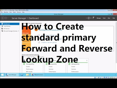 6. How to Create Primary Forward and Reverse Lookup Zone in Windows Server 2012 R2