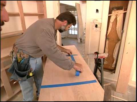 Installing a Wood Kitchen Countertop