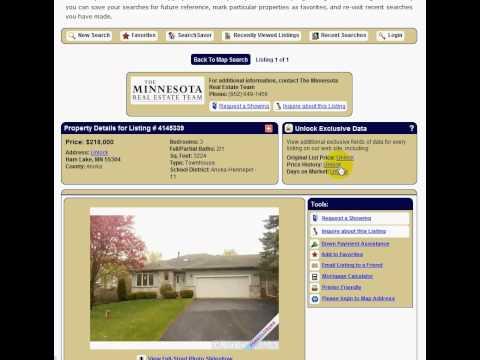 Search MN Real Estate Northstar MLS Member