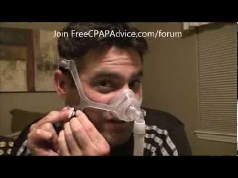 Philips Respironics Wisp Nasal CPAP Bilevel Mask Fitting Review Demonstration FreeCPAPAdvice com
