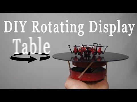 DIY Rotating Display Table Build - RCLifeOn
