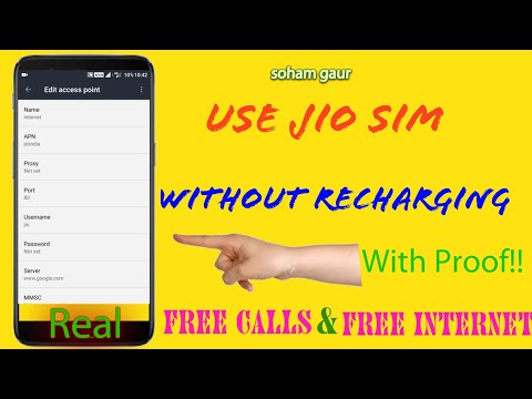 Free Calls and Internet on Jio without 399 Recharge