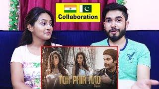 INDIANS react to Toh Phir Aao Trap Mix | India-Pakistan Collaboration