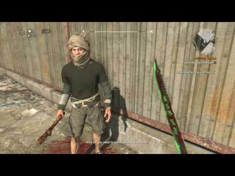 Dying Light dancing zombies easter egg!!