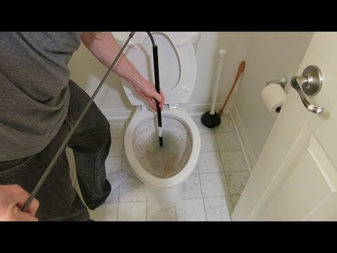HOW TO UNCLOG A TOILET THE WORST I'VE EVER SEEN - 3 Different Ways To Unclog Your Toilet!!