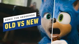 Sonic The Hedgehog: Old and New Design Comparison
