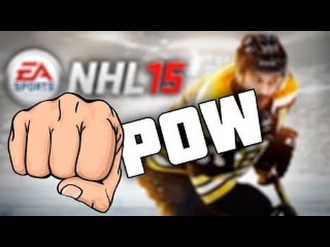 NHL 15 - How to start a fight