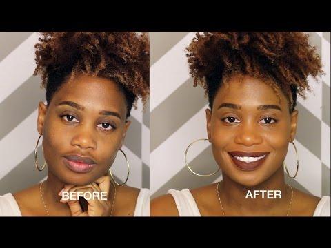 How to Conceal/Cover Dark Spots Mustache | MissKenK