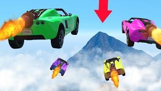 ROCKET CAR GTA 5 RACING (GTA 5 DLC)