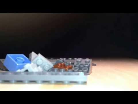 Lego series 1 (combat knife) tutorial