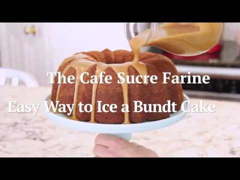 How to Ice a Bundt Cake