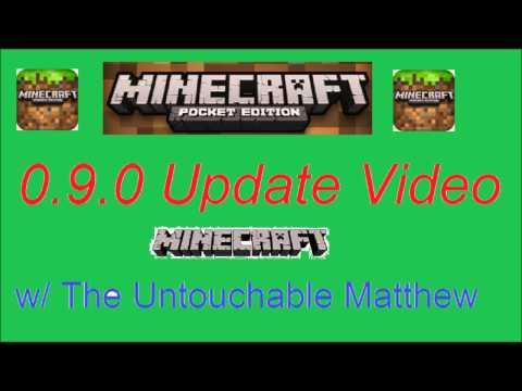 Minecraft Pocket Edition 0.9.0 Update: Everything + Release Date