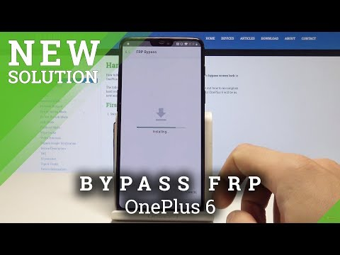 How to Skip Google Verification in OnePlus 6 - Bypass Factory Reset Protection