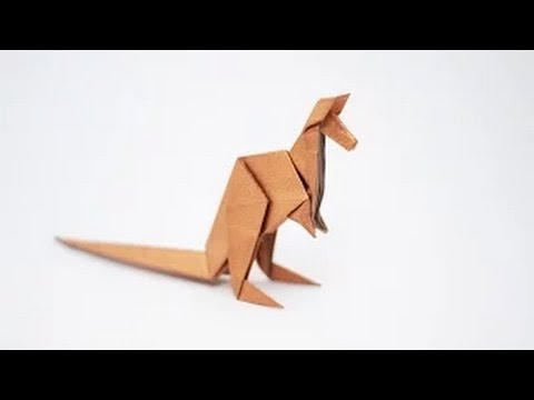 Origami Animal - How to fold an Origami Kangaroo step-by-step