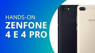 Zenfone 4 e Zenfone 4 Pro [Hands-on]