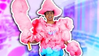 DIY How To Make COTTON CANDY ARMOR!