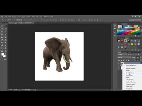 How to Add or Create Shadow in Image with Photoshop CS6