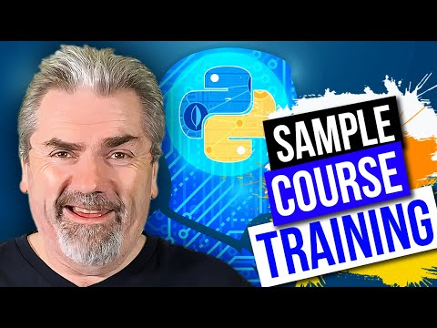 Sample Course Training - Machine Learning with Python from Scratch on Udemy - Official