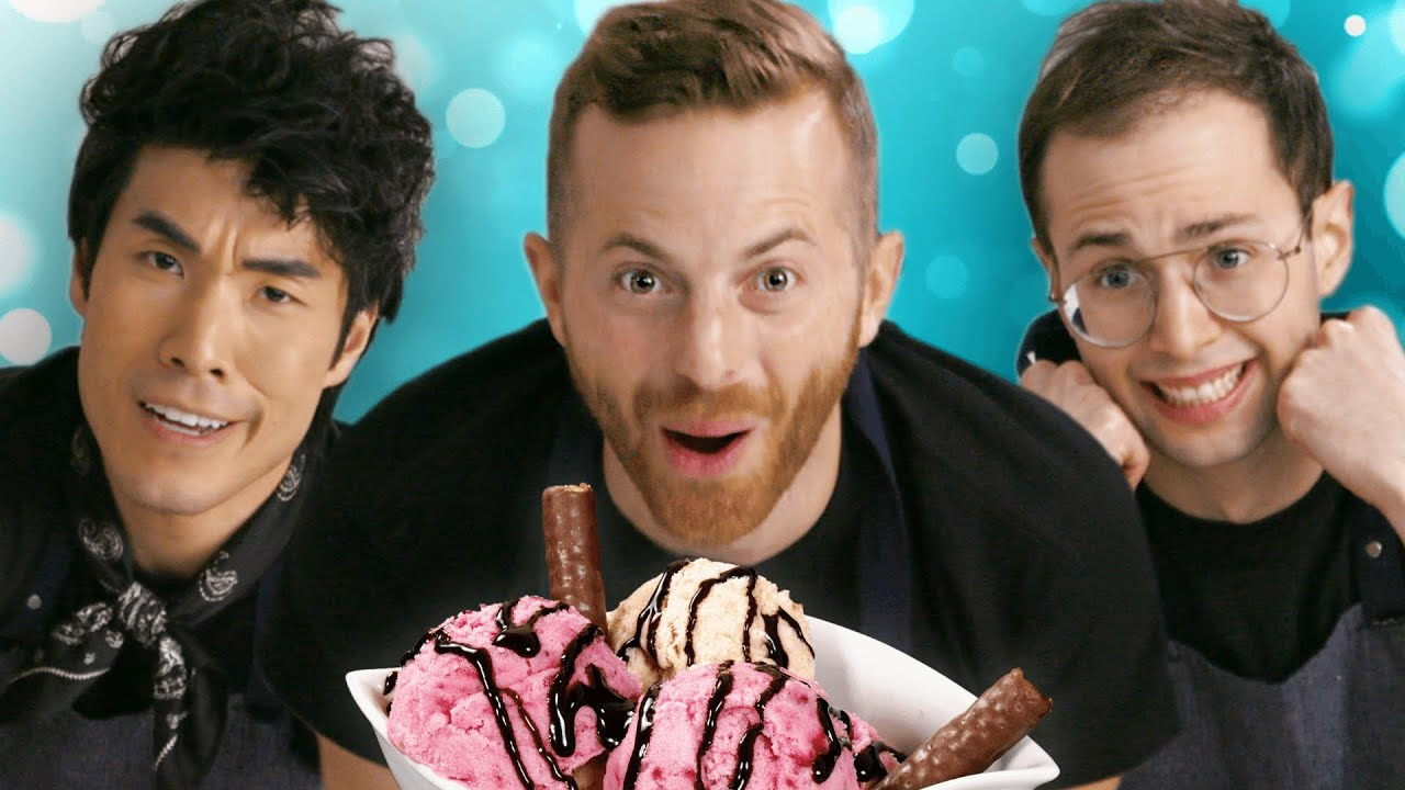 The Try Guys Make Ice Cream Without A Recipe