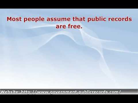 Use Government Public Records to Find What You're Looking For