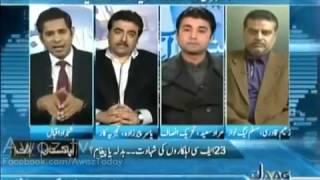 Pakistan Aaj Raat 13 January 2017, Pakistani Talk Shows