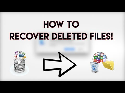 How To Recover Deleted Files (Windows/Mac)