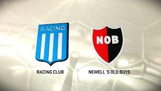 Racing vs. Newell's. Fecha 9. Torneo de Primera División 2016/2017. FPT