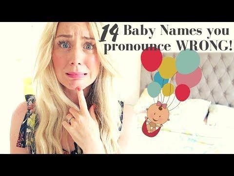 14 Baby Names You're Pronouncing WRONG | SJ Strum & Ysis Lorenna Collab