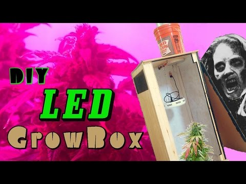 DIY LED Grow Box w/ Carbon Filter - Build Instructions & Overview