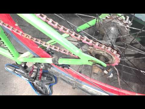 Fixie Flip Flop Wheel Change And Brake Removal