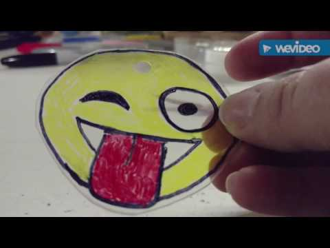DIY Shrinky Dink Keychains